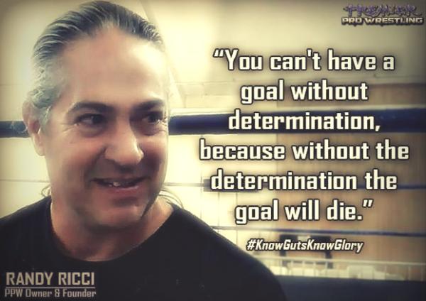 Premier Pro Wrestling Training School head trainer and CEO, Rockin' Randy Ricci